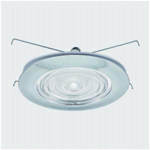 6 Inch Bulat Perumahan Downlight Frensnel Shower Trim