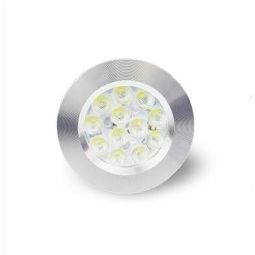 DC 12VCabinet Led Light ETL,12V Recessed Mini Puck Jewelry Light ETL