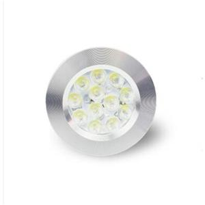 DC 12VCabinet Led Light ETL,12V Recessed Mini Puck Jewelry Light ETL