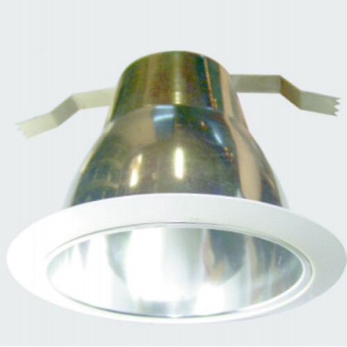 5 Inch Aluminum Round Retrofit Decorated Cone Baffle Trim