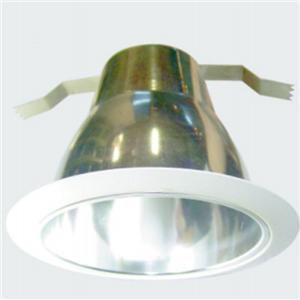5 Inch Aluminum Round Retrofit Decorated Cone Baffle Trim