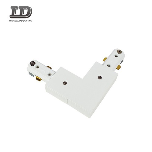 L Type Led Track Light Connector 3wire