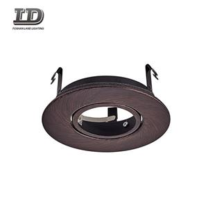 4 Inch Retrofit Putaran Downlight Adjustable Gimbal Trim