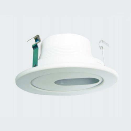 4 Inch White Baffle Round Retrofit Downlight Trim
