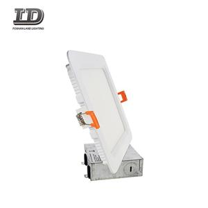 6 Inch Square Baffle LED Slim Panel Light