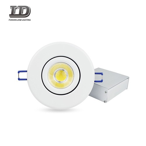 4-inčni Cob udubljeni Gimbal LED Downlight IC Airtight Trim