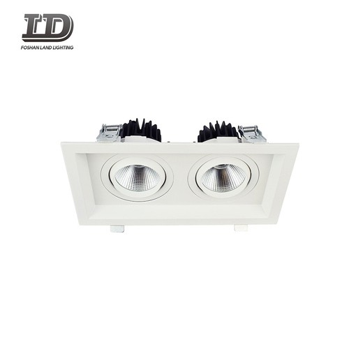 24w Square Cob Led Downlight