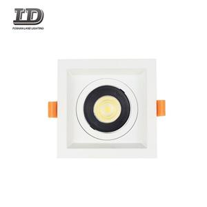 5 Inch 15w Square Led Gimbal Downlight Trim