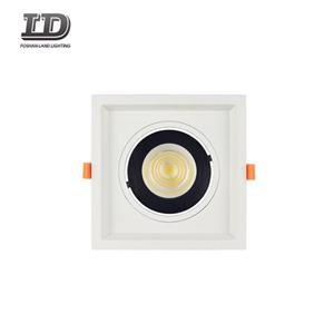 5 Inch 15w Square Led Gimbal Downlight Trim With Junction Box