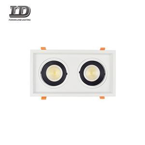 24w Led Cob Blcak Gimbal Downlight