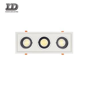 36w Led Cob Blcak Gimbal Downlight