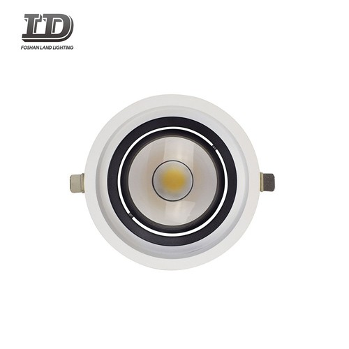 4 Inch 12w Led Round Gimbal Downlight Trim With Junction Box