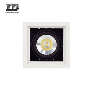 15w Led Gimbal Square Downlight Trim