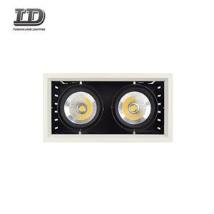 30w Cob Rectangular Gimbal Double Downlight