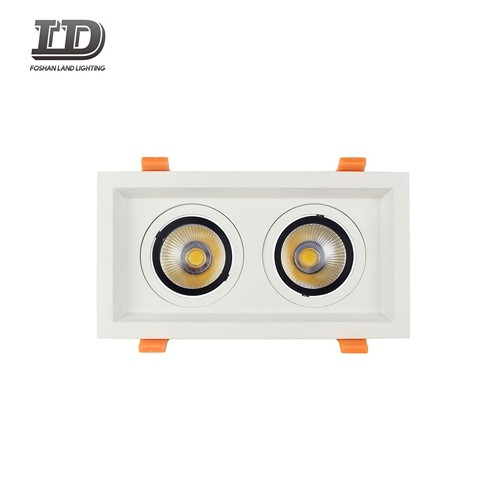24w Led Square Gimbal Downlight Trim