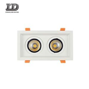 24w Square Led Gimbal Downlight two heads
