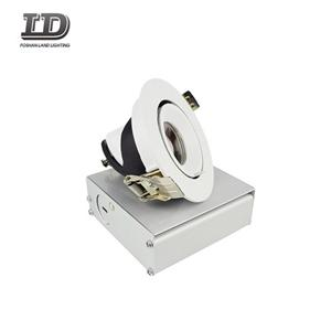 9w Recessed Led Downlight spot light With Junction Box gimbal ring