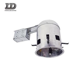 5 Inch Iron ICAT Remodel Recessed Housing
