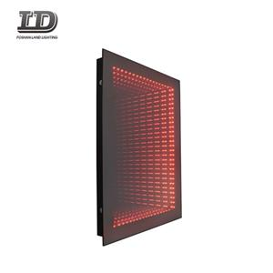 Smart 3D Led Wall Light Mirror Infinity Bathrom Mirror IP44