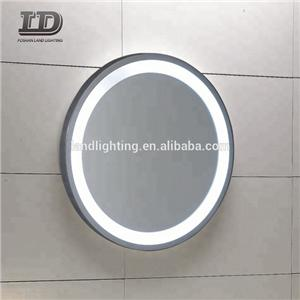 Customize Smart Mirror Round Led Lighted Mirror ETL UL