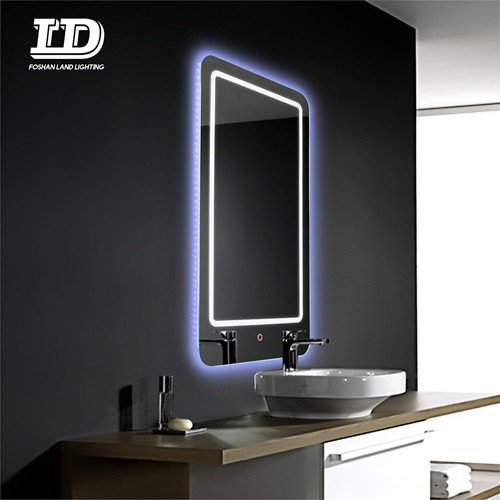 Led Mirror With Light Touch Switch And Demister Pad