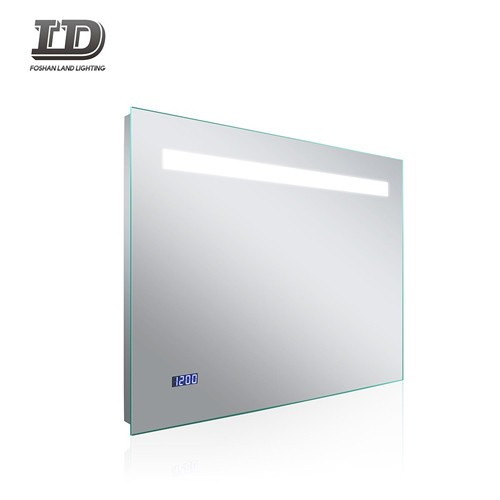 Rectangle Bathroom Mirror With Led Light With Demister