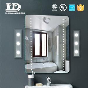 Bathroom Mirror With Lamp Acrylic Led Mirror Wall Lamp ETL IP44