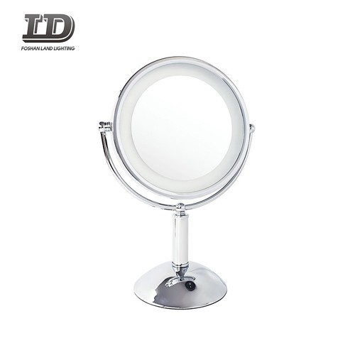 Cosmetic Mirror Light Round Makeup With 3x Magnifying Mirror IP44
