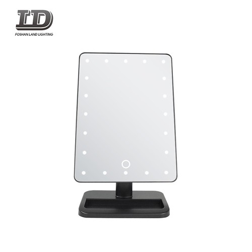 Mirror With Light Make-up Table Top Mirror IP44
