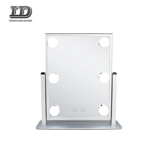 Cosmetische tafelspiegel met lichte make-up Lichte spiegel IP44