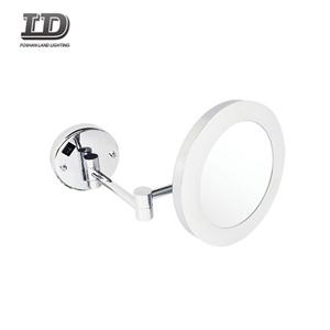 Shaving Mirror With Led Light Hotal Batheroom Foldable Mirror Light