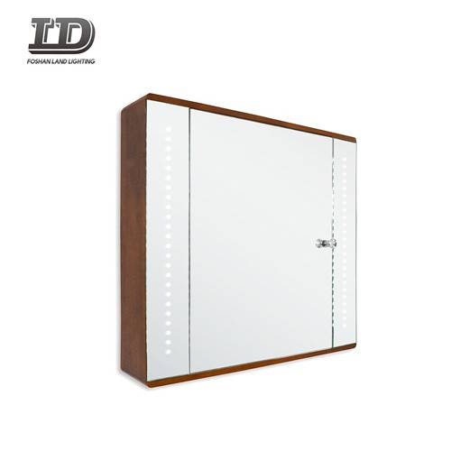 Water-proofing Aluminum Bathroom Led Mirror Cabinet