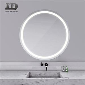 Round Bathroom Led Light Vanity Mirror