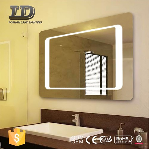 Backlit Led Lighted Mirror IP44 Sensor Switch