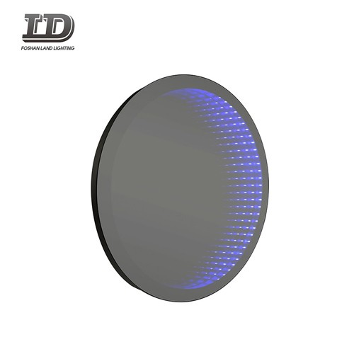 Decorative LED Infinity Mirror Bathroom With Button Switch