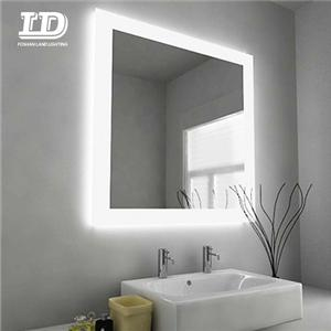 Mirror Light With Sensor Switch Demister Pad Anti-fog Light Mirror