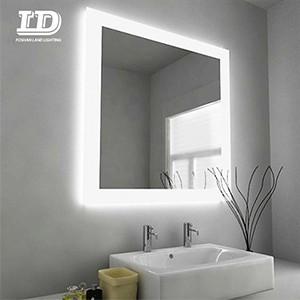 Mirror Light With Sensor Switch Demister Pad Anti-fog Light Mirror