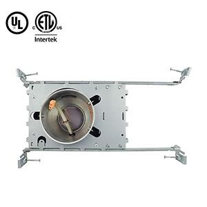 4 Inch Aluminum New Constrction Recessed Housing