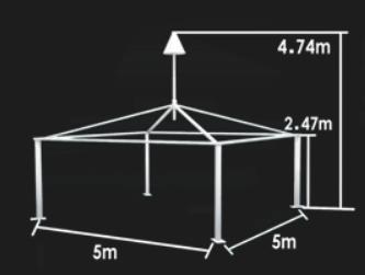 Buy arcum wedding tent