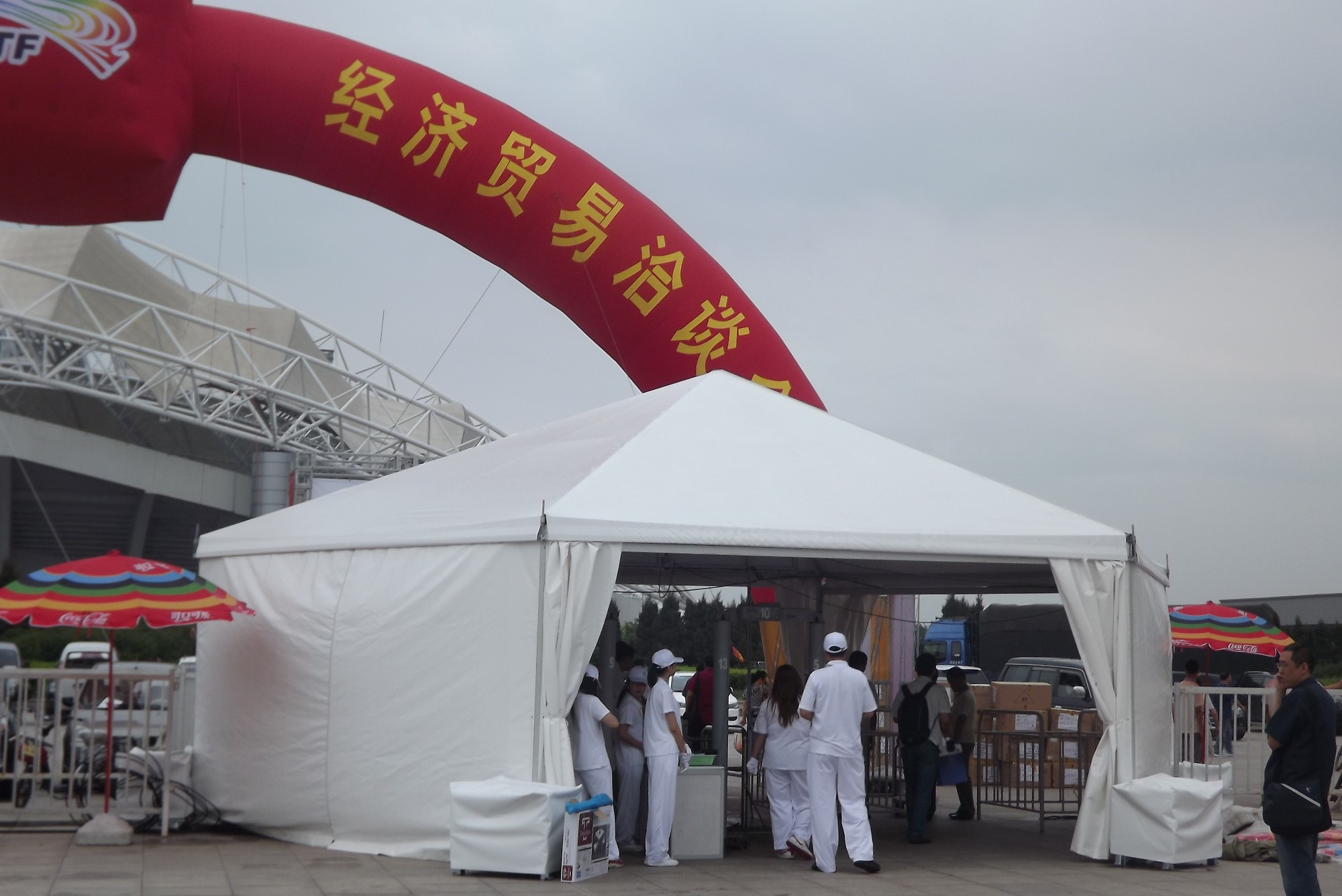 Cheap Polygon Tent For Events, China high peak polygon tent, any size tent Price