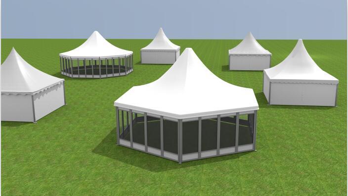 Six side tent