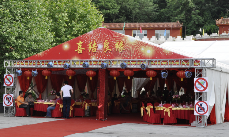 Cheap marquee wedding party tent, Buy High Peak Wedding Party Mixed Tent Price