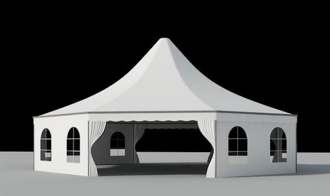 Tenda octogonal
