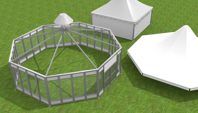 Eight side tent