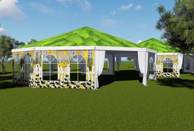 Decagonal Tent Manufacturers, Decagonal Tent Factory, Supply Decagonal Tent