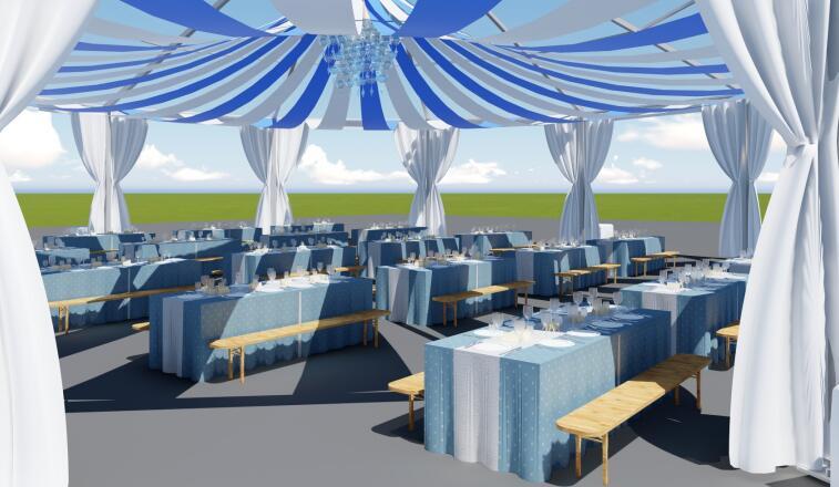 Ten sides tent