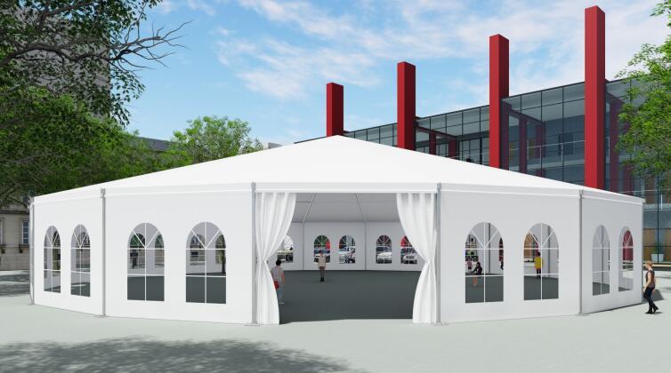 Twelve sides tent