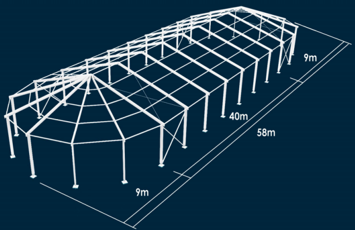 Shaped tents