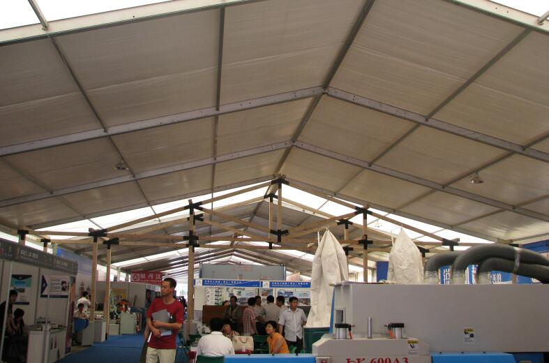 Marquee tent for tradeshow