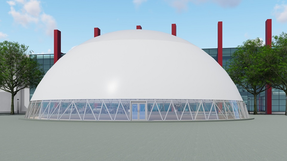 Trade Fair Dome Marquee